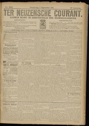 Ter Neuzensche Courant. Algemeen Nieuws- en Advertentieblad voor Zeeuwsch-Vlaanderen / Neuzensche Courant ... (idem) / (Algemeen) nieuws en advertentieblad voor Zeeuwsch-Vlaanderen 1916-09-07