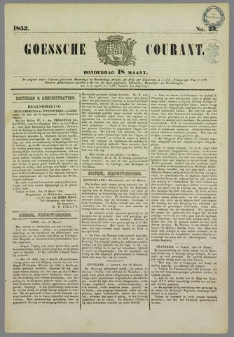 Goessche Courant 1852-03-18