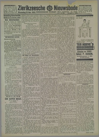 Zierikzeesche Nieuwsbode 1933-02-15