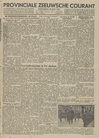 Provinciale Zeeuwse Courant 1943-07-28