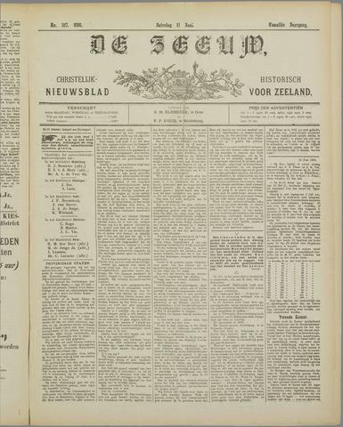 De Zeeuw. Christelijk-historisch nieuwsblad voor Zeeland 1898-06-11