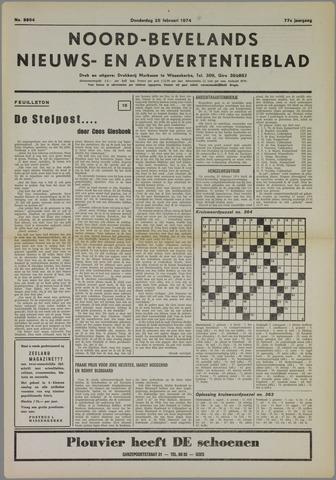 Noord-Bevelands Nieuws- en advertentieblad 1974-02-28