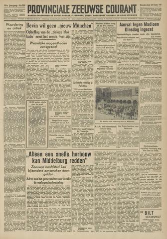 Provinciale Zeeuwse Courant 1948-09-23