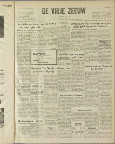 de Vrije Zeeuw 1958-07-04