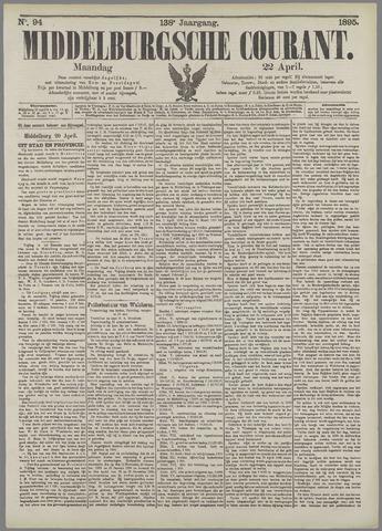 Middelburgsche Courant 1895-04-22