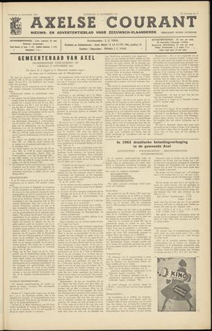 Axelsche Courant 1961-11-25