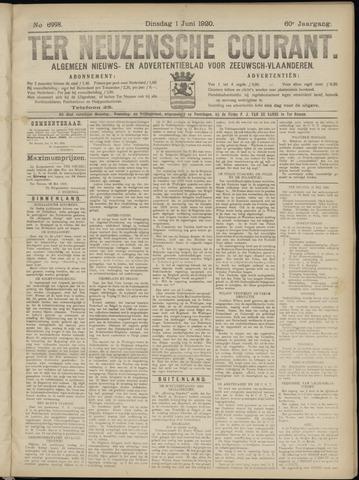 Ter Neuzensche Courant. Algemeen Nieuws- en Advertentieblad voor Zeeuwsch-Vlaanderen / Neuzensche Courant ... (idem) / (Algemeen) nieuws en advertentieblad voor Zeeuwsch-Vlaanderen 1920-06-01