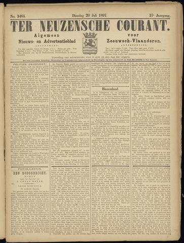 Ter Neuzensche Courant. Algemeen Nieuws- en Advertentieblad voor Zeeuwsch-Vlaanderen / Neuzensche Courant ... (idem) / (Algemeen) nieuws en advertentieblad voor Zeeuwsch-Vlaanderen 1897-07-20