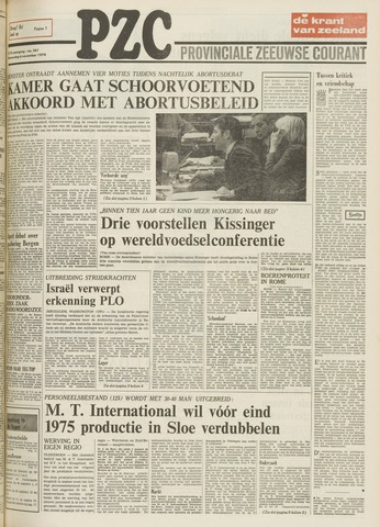 Provinciale Zeeuwse Courant 1974-11-06