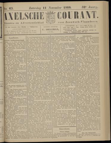 Axelsche Courant 1916-11-11