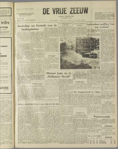 de Vrije Zeeuw 1961-02-07