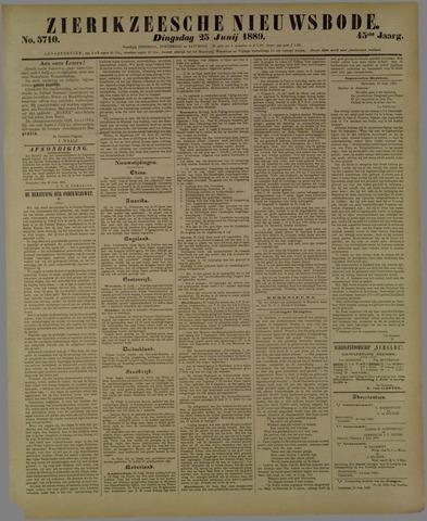 Zierikzeesche Nieuwsbode 1889-06-25