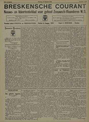 Breskensche Courant 1939-02-21