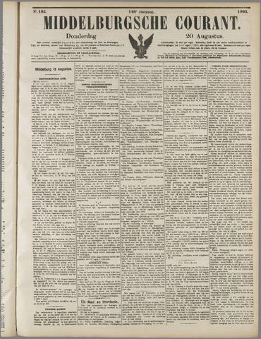 Middelburgsche Courant 1903-08-20