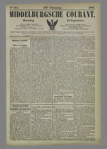 Middelburgsche Courant 1887-09-12