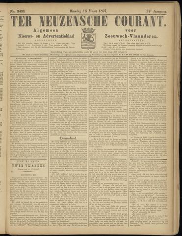 Ter Neuzensche Courant. Algemeen Nieuws- en Advertentieblad voor Zeeuwsch-Vlaanderen / Neuzensche Courant ... (idem) / (Algemeen) nieuws en advertentieblad voor Zeeuwsch-Vlaanderen 1897-03-16
