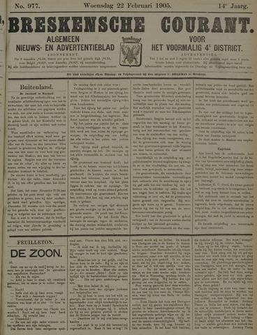 Breskensche Courant 1905-02-22