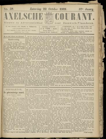 Axelsche Courant 1921-10-22