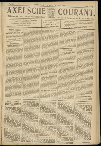 Axelsche Courant 1936-08-18