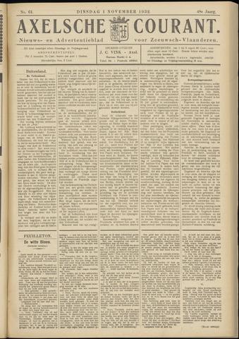 Axelsche Courant 1932-11-01