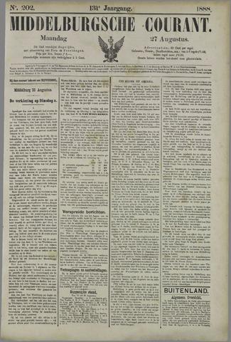 Middelburgsche Courant 1888-08-27