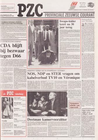 Provinciale Zeeuwse Courant 1989-09-15
