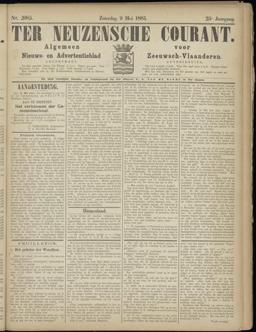 Ter Neuzensche Courant. Algemeen Nieuws- en Advertentieblad voor Zeeuwsch-Vlaanderen / Neuzensche Courant ... (idem) / (Algemeen) nieuws en advertentieblad voor Zeeuwsch-Vlaanderen 1885-05-09