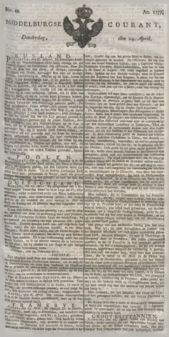 Middelburgsche Courant 1777-04-24