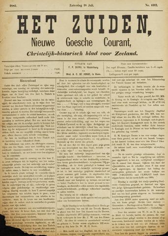 Het Zuiden, Christelijk-historisch blad 1885-07-18