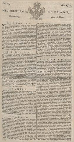 Middelburgsche Courant 1771-03-28