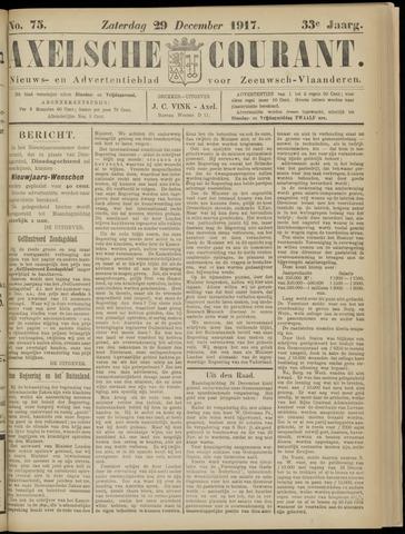 Axelsche Courant 1917-12-29