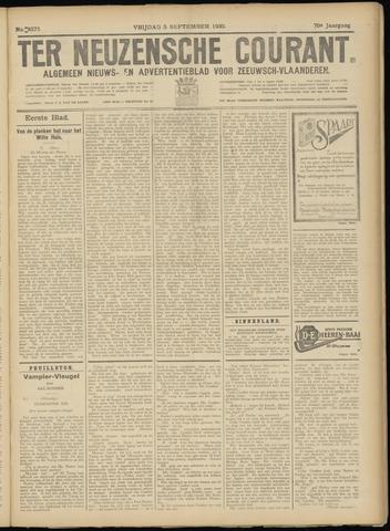 Ter Neuzensche Courant. Algemeen Nieuws- en Advertentieblad voor Zeeuwsch-Vlaanderen / Neuzensche Courant ... (idem) / (Algemeen) nieuws en advertentieblad voor Zeeuwsch-Vlaanderen 1930-09-05