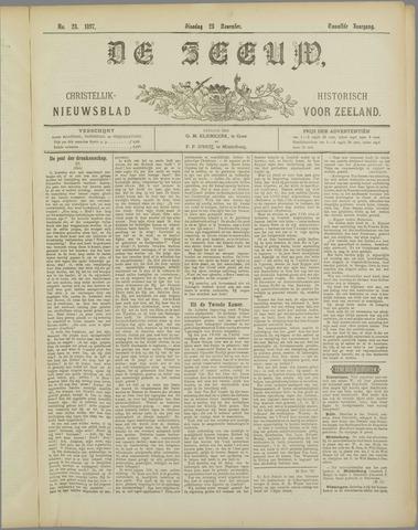 De Zeeuw. Christelijk-historisch nieuwsblad voor Zeeland 1897-11-23
