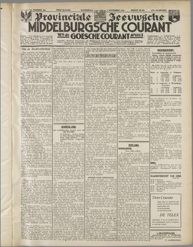 Middelburgsche Courant 1936-11-05
