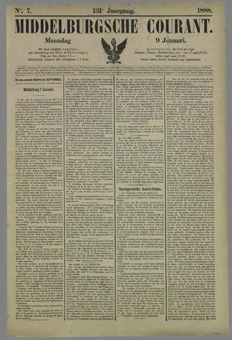 Middelburgsche Courant 1888-01-09