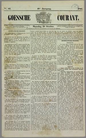 Goessche Courant 1861-10-28