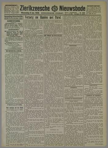 Zierikzeesche Nieuwsbode 1930-01-08