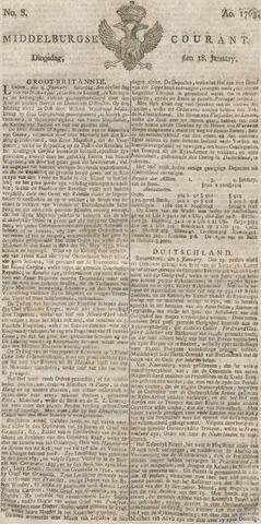 Middelburgsche Courant 1763-01-18