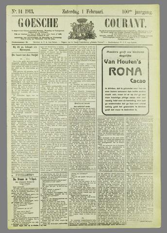 Goessche Courant 1913-02-01