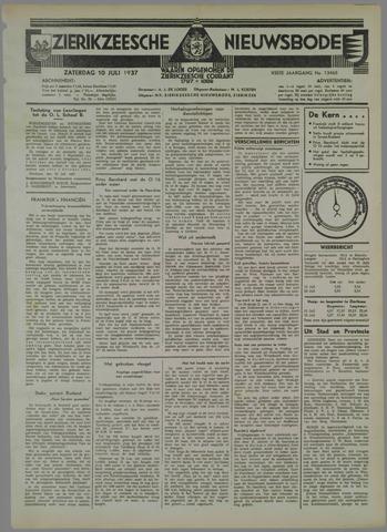 Zierikzeesche Nieuwsbode 1937-07-10
