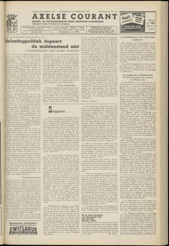 Axelsche Courant 1954-02-24