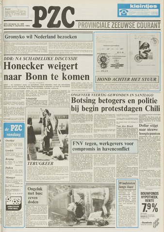 Provinciale Zeeuwse Courant 1984-09-05