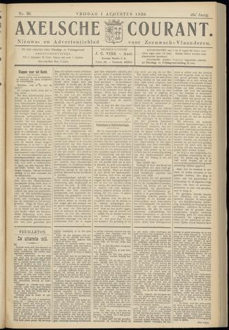 Axelsche Courant 1930-08-01