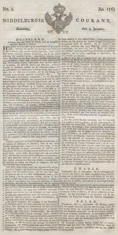Middelburgsche Courant 1761-01-03