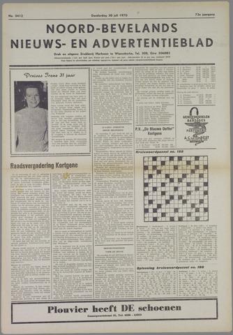Noord-Bevelands Nieuws- en advertentieblad 1970-07-30