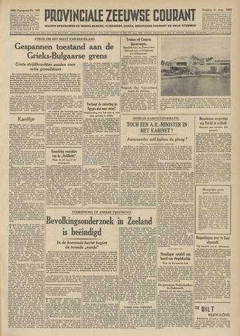Provinciale Zeeuwse Courant 1952-08-08