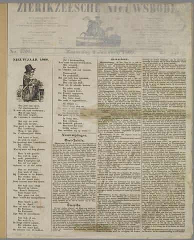 Zierikzeesche Nieuwsbode 1869