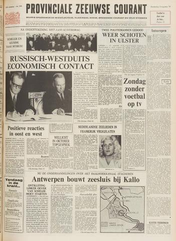 Provinciale Zeeuwse Courant 1970-08-13