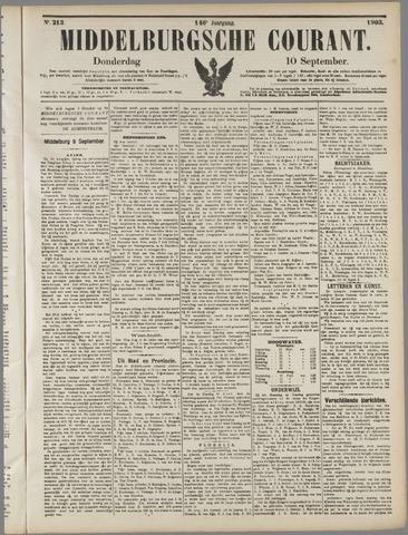 Middelburgsche Courant 1903-09-10