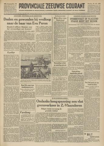 Provinciale Zeeuwse Courant 1952-07-29